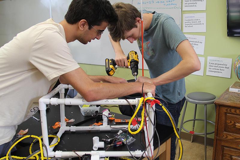 Grauer engineering design students bringing STEM to life